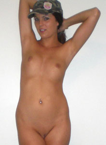Alex Unzips Her Top And Squeezes Her Perfect Perky Tits Together - Picture 11