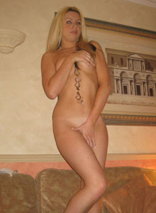Chanel Strips Out Of Her Tiny Hoodie And Shorts Showing Off Her White Lace Bra And Panties - Picture 11