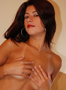 Cindy Strips Out Of Her Cocktail Dress Showing Off Her Perfect Teen Body - Picture 11