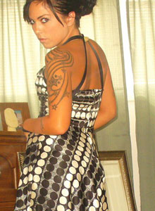 Watch As Deja Dresses Up In A Sexy Classy Dress - Picture 5