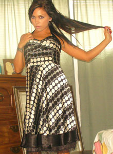Watch As Deja Dresses Up In A Sexy Classy Dress - Picture 6