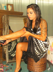 Watch As Deja Dresses Up In A Sexy Classy Dress - Picture 8