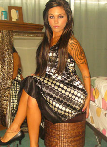 Watch As Deja Dresses Up In A Sexy Classy Dress - Picture 9