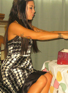Watch As Deja Dresses Up In A Sexy Classy Dress - Picture 10