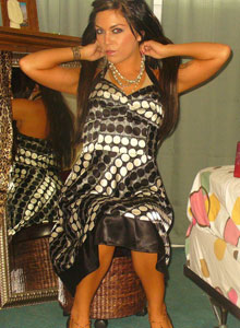 Watch As Deja Dresses Up In A Sexy Classy Dress - Picture 11
