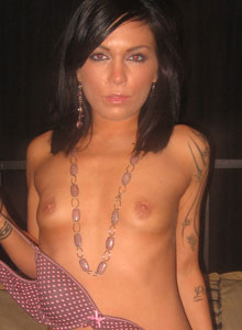 Watch As Deja Strips Out Of Her Bra And Panties - Picture 8