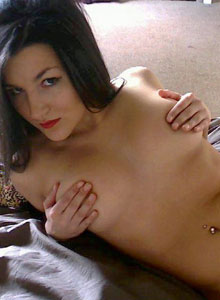 Cute Teen Strips Out Of Her Tiny Bra And Panties - Picture 10
