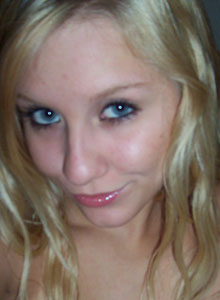 Teen Strips Out Of Her Clothes To Just Her Black Lace Bra And Panties - Picture 12